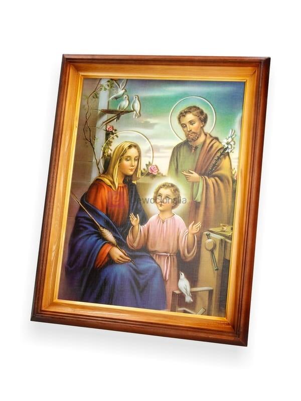 Obraz Swieta Rodzina 47x37 Dewocjonalia Sklep Internetowy